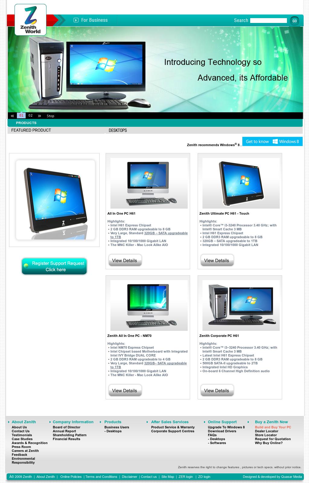 Owler Reports - Press Release: Zenith : Zenith computers
