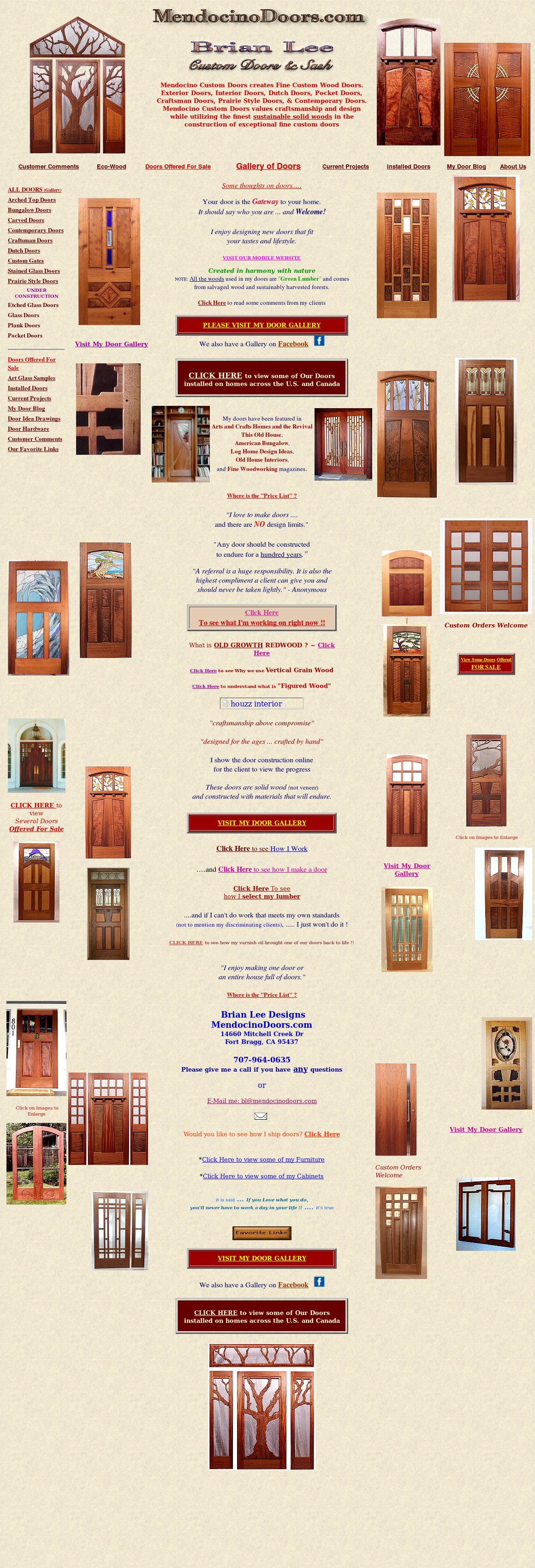 Mendocino Doors website history  sc 1 st  Owler & Mendocino Doors Competitors Revenue and Employees - Owler Company ...