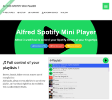 Alfred Spotify Mini Player Competitors, Revenue and