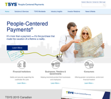 TSYS website history