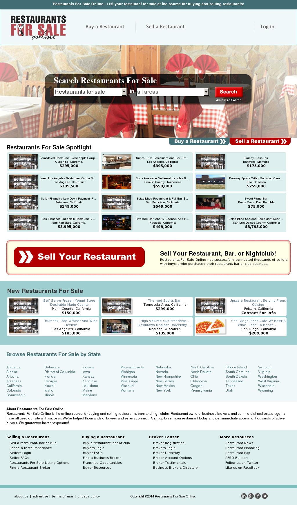 Restaurants For Sale Competitors Revenue And Employees Owler