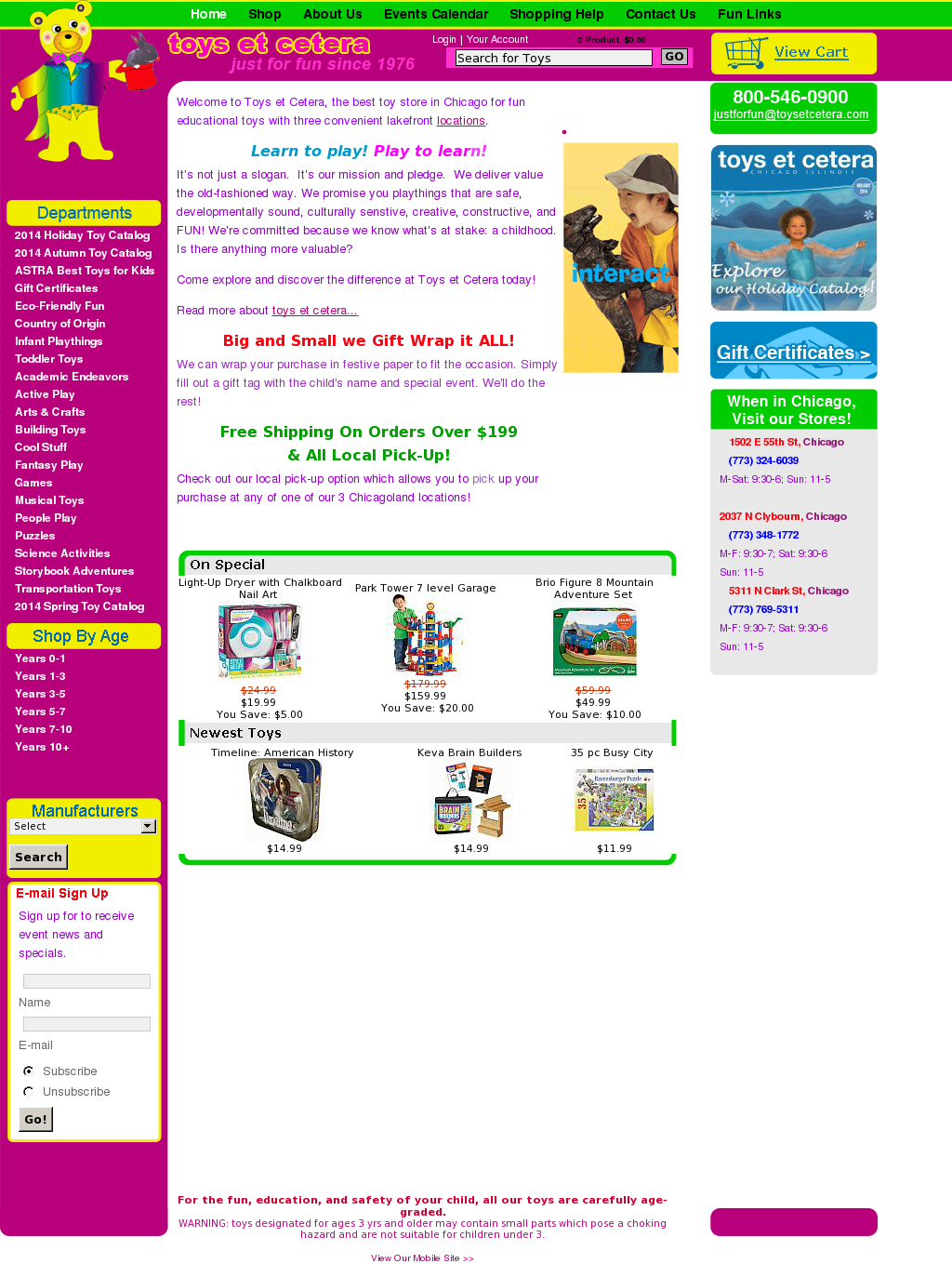 Toys Et Cetera Competitors Revenue And Employees Owler Company