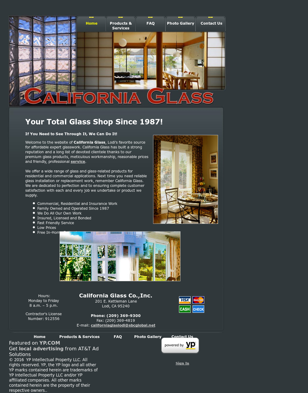 California Glass Competitors, Revenue and Employees - Owler