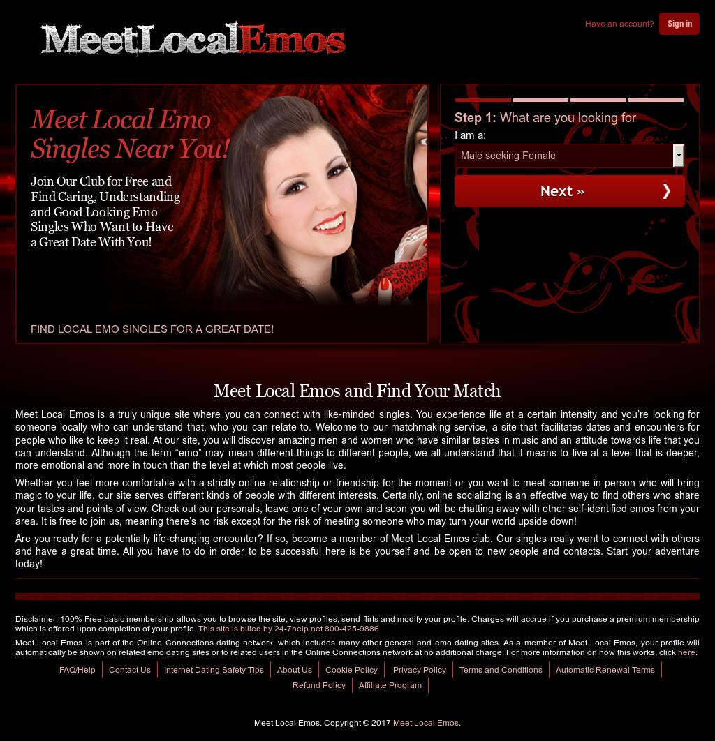 emo online dating