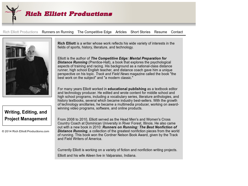 Rich Elliott Productions Competitors, Revenue and Employees - Owler