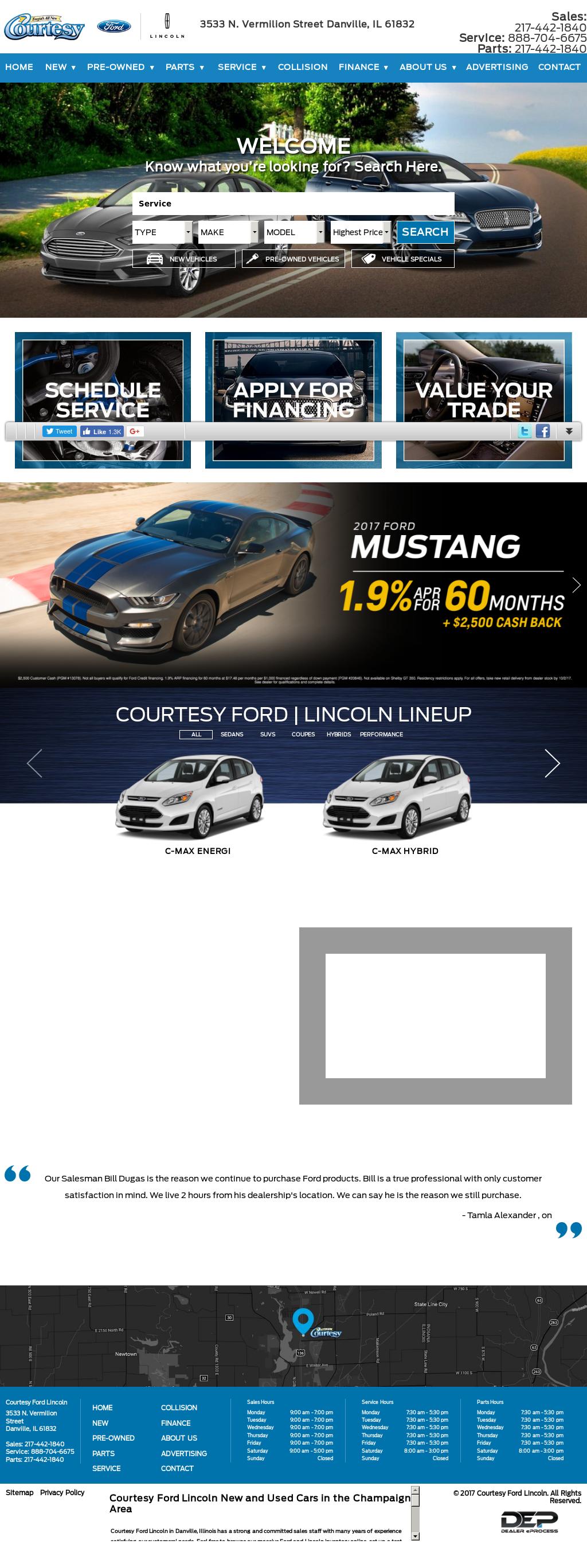 Courtesy Ford Danville Il >> Courtesy Ford Lincoln Mercury Competitors Revenue And Employees