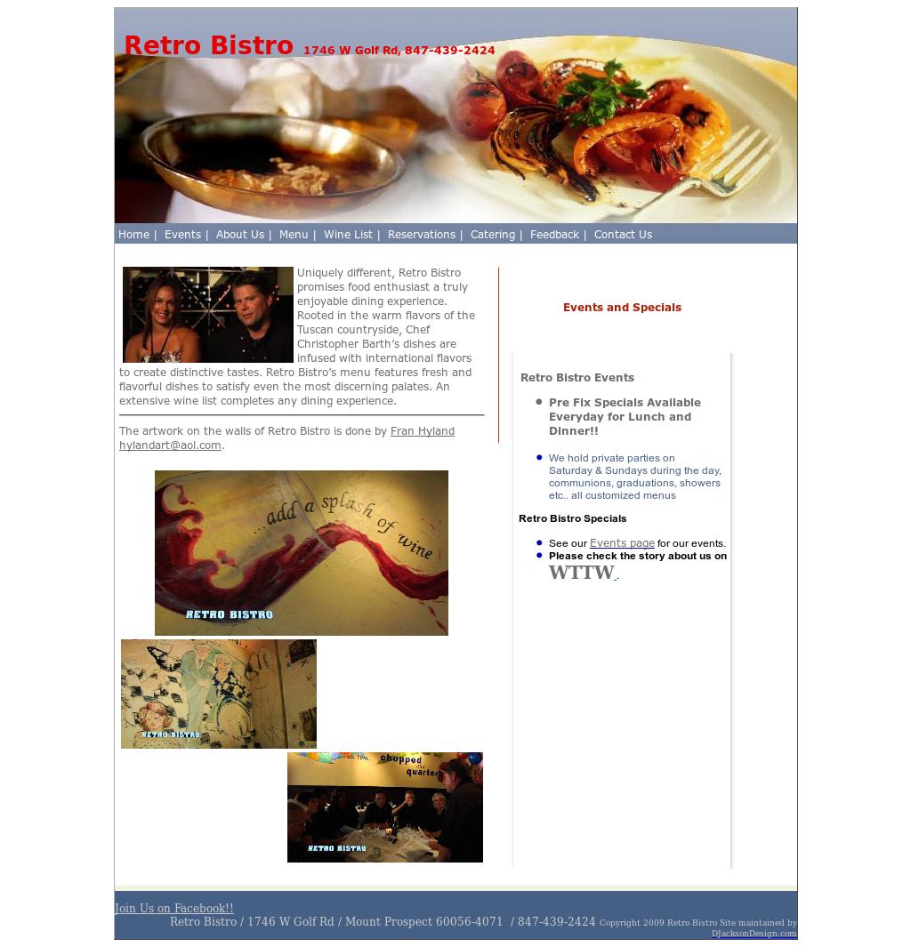 Retro Bistro Competitors, Revenue And Employees   Owler Company Profile