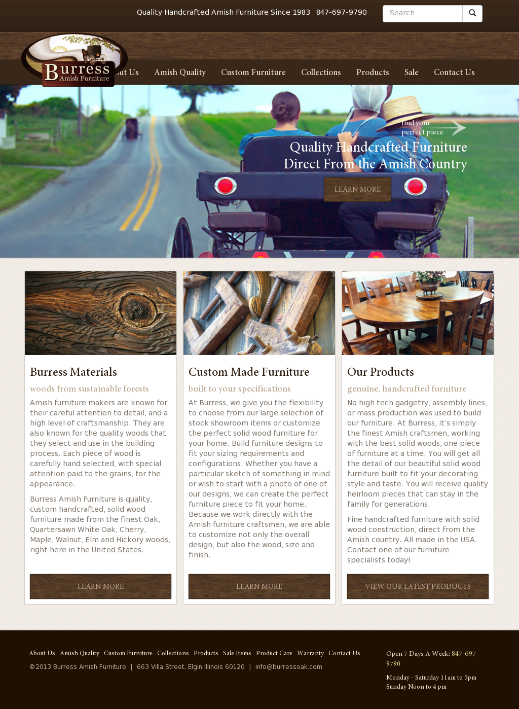 Burress Amish Furniture Compeors Revenue And Employees Owler Company Profile