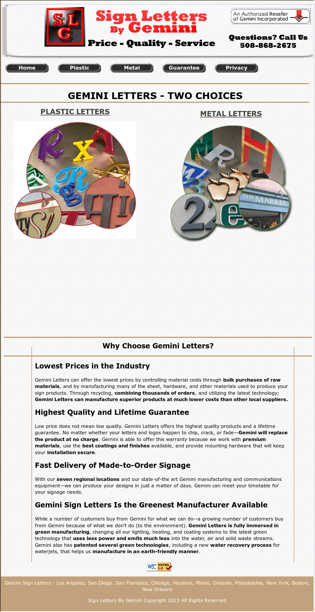 metal sign letters by gemini competitors revenue and employees owler company profile