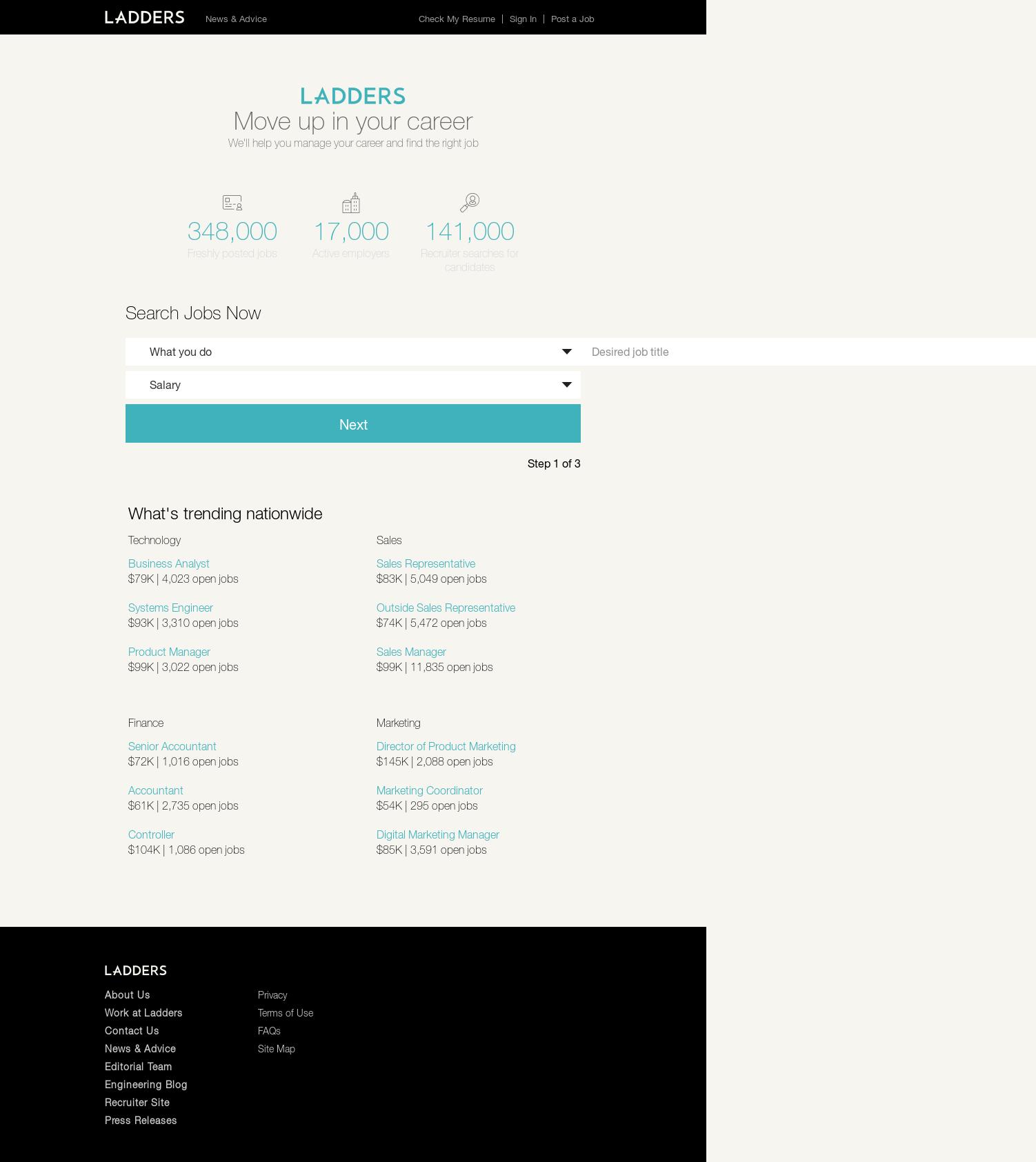 Fine Ladders Resume Elaboration Documentation Template Example