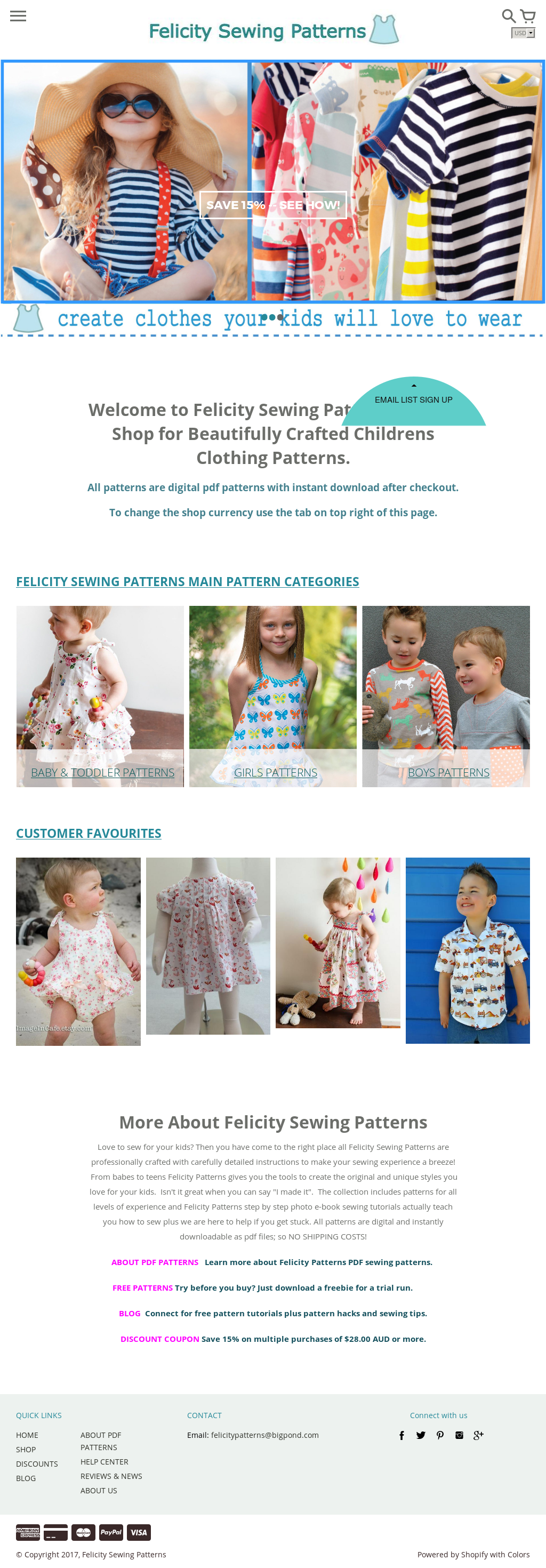 Felicity Sewing Patterns Competitors, Revenue and Employees