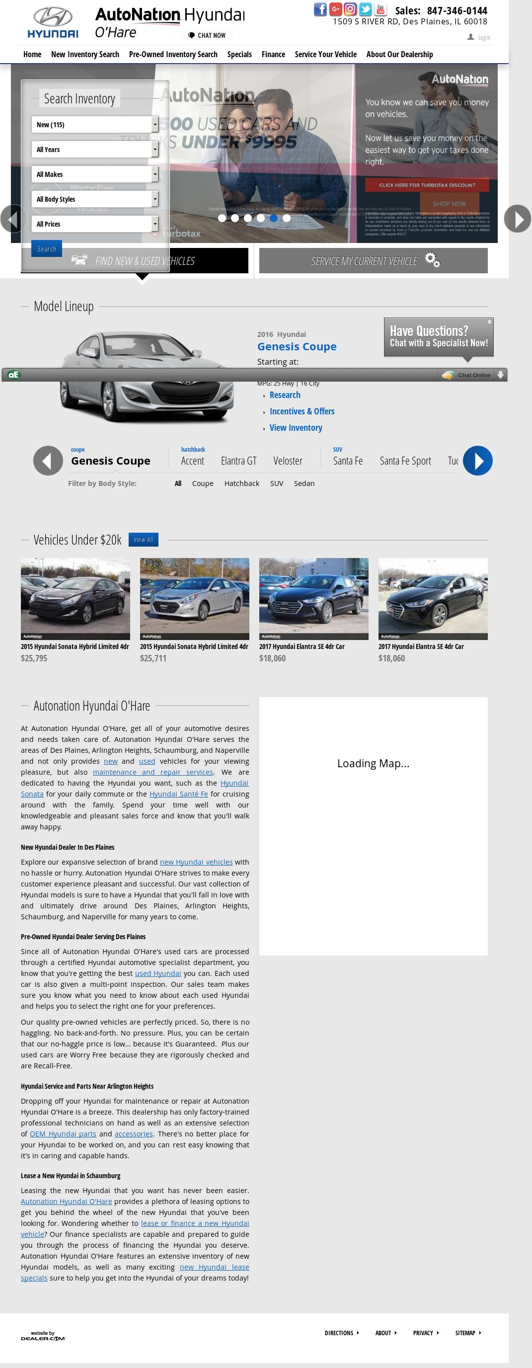 Autonation O Hare >> Autonation Hyundai O Hare Competitors Revenue And Employees