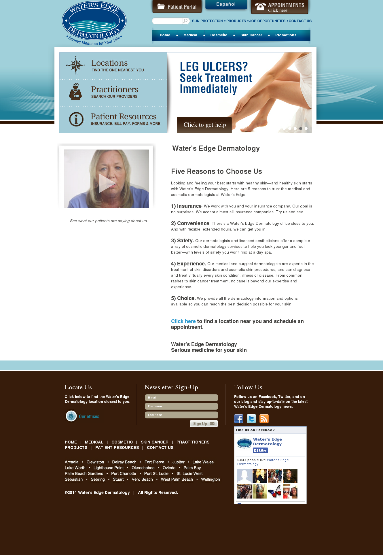 Water's Edge Dermatology Competitors, Revenue and Employees