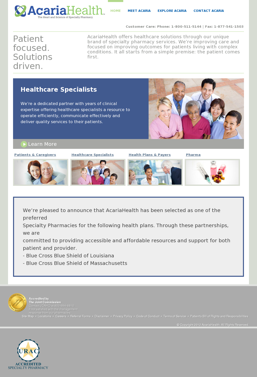 AcariaHealth Competitors, Revenue and Employees - Owler Company Profile