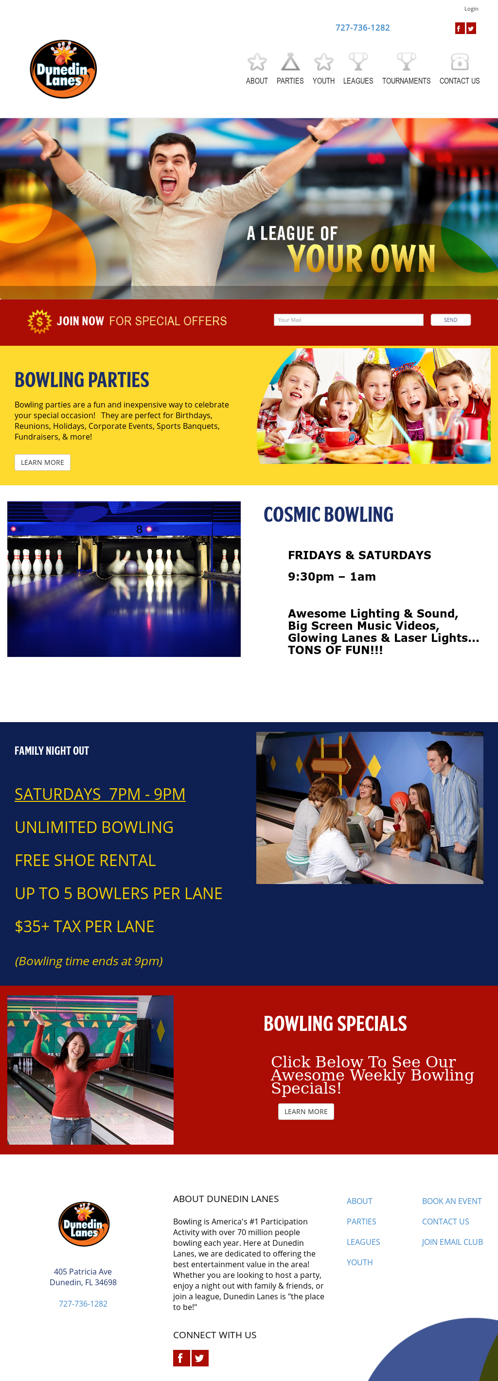 Dunedin Lanes Competitors, Revenue and Employees - Owler