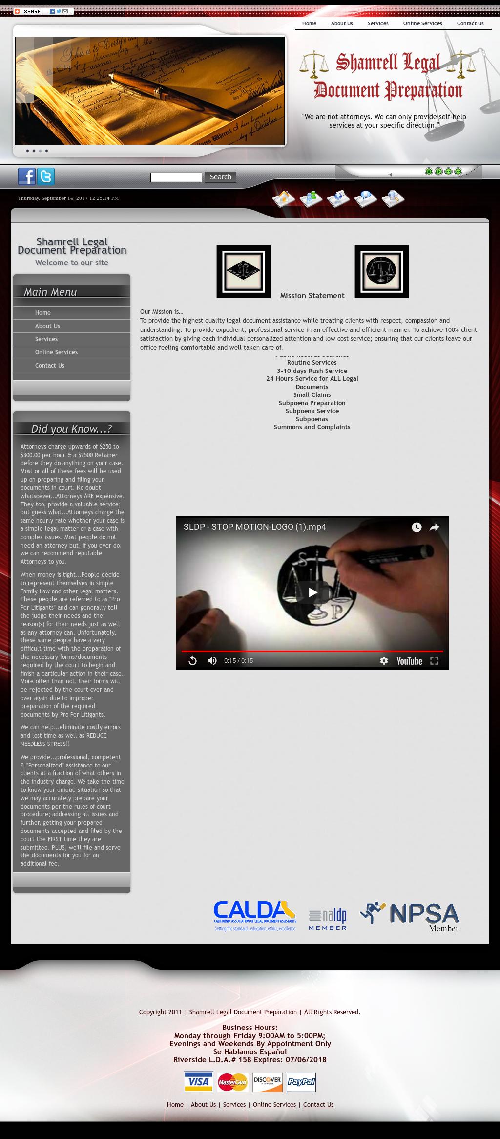 Shamrell Legal Document Preparation Competitors Revenue And - Legal document preparation business