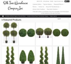 Silk Tree Warehouse Company Website History