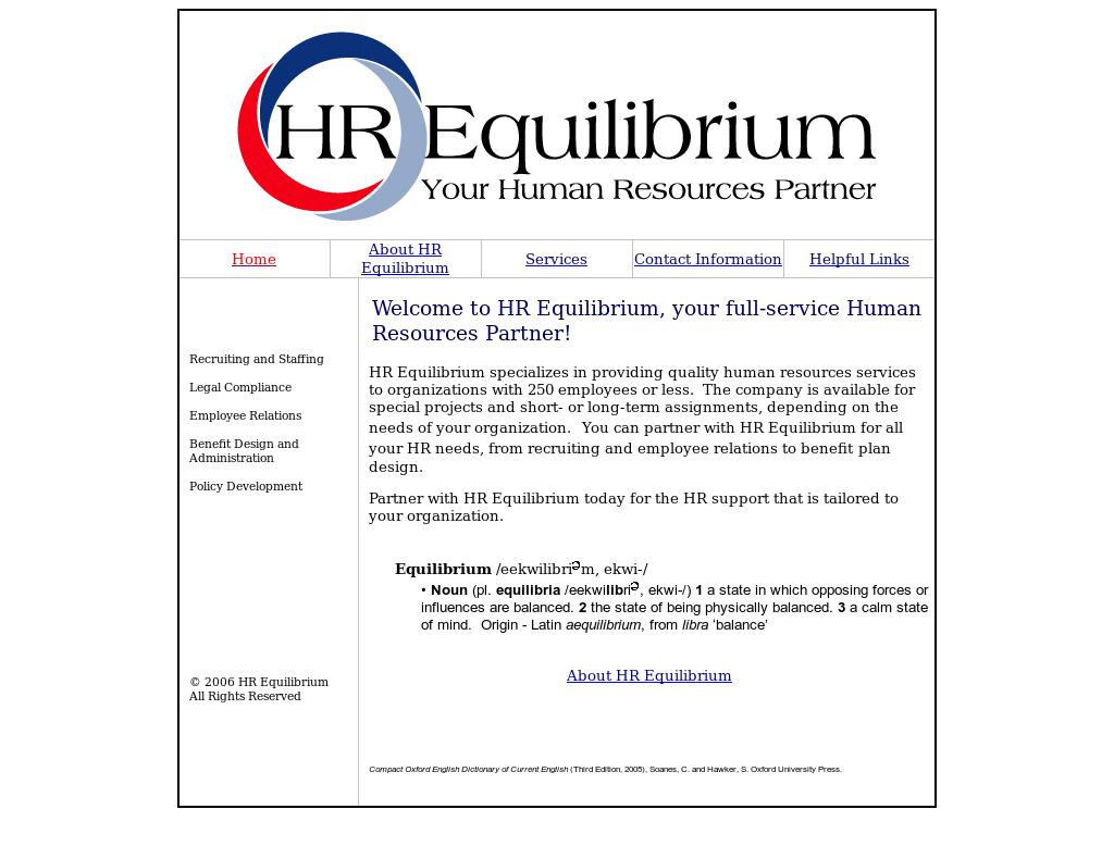 Hr Equilibrium Competitors, Revenue and Employees - Owler
