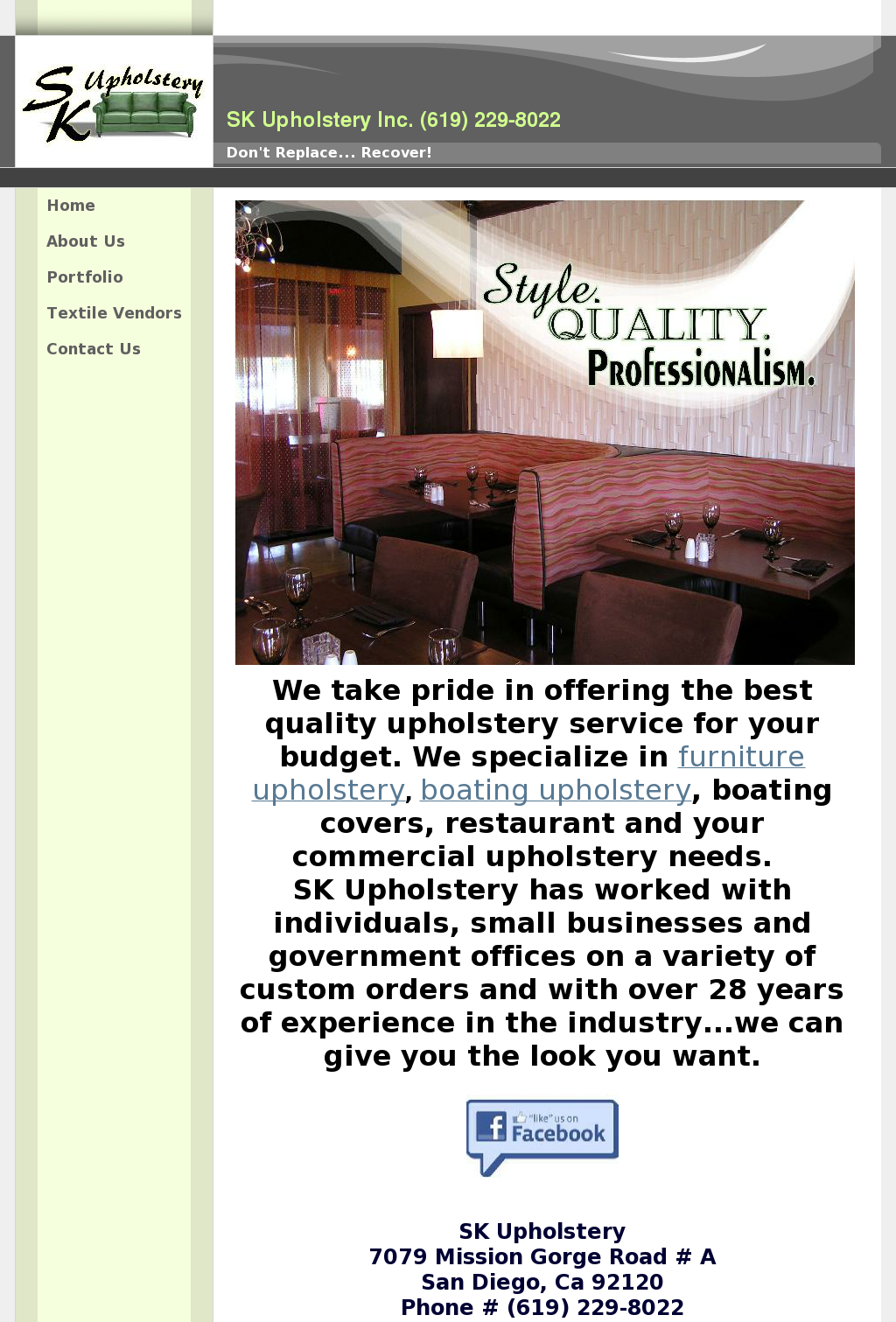 Srk Upholstery Competitors Revenue And Employees Owler Company