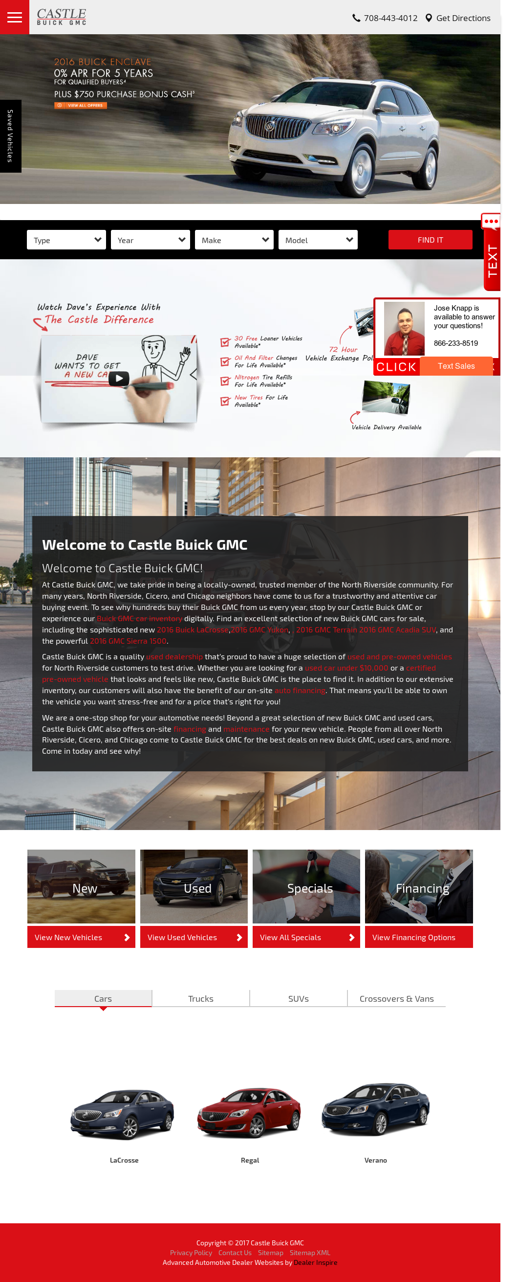 castle buick gmc competitors revenue and employees owler company