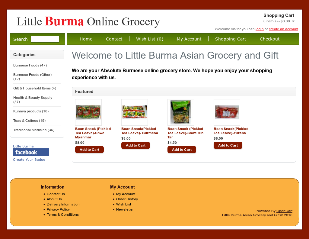 Little Burma Asian Grocery And Gift Competitors, Revenue and