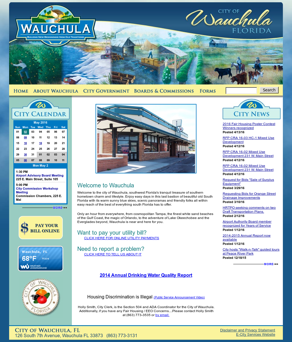 City Of Wauchula Compeors Revenue And Employees Owler Company Profile