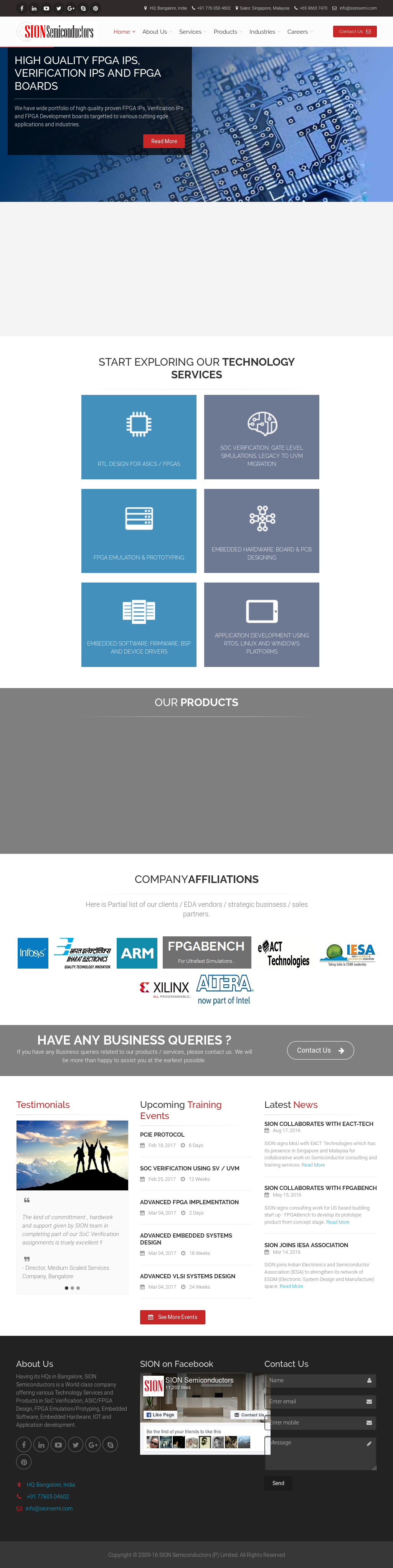 Sion Semiconductors Competitors, Revenue and Employees