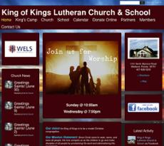 King of Kings Lutheran Church & School Competitors, Revenue