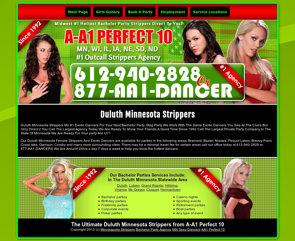 Strippers duluth mn