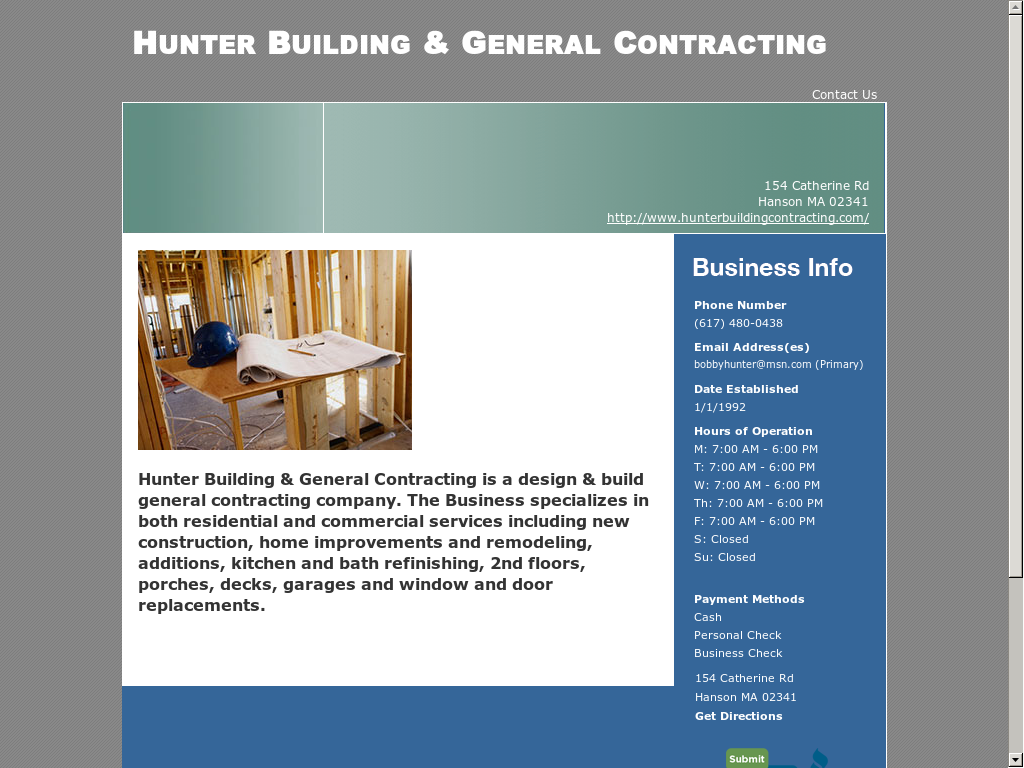 Hunter Building & General Contracting Competitors, Revenue and ...