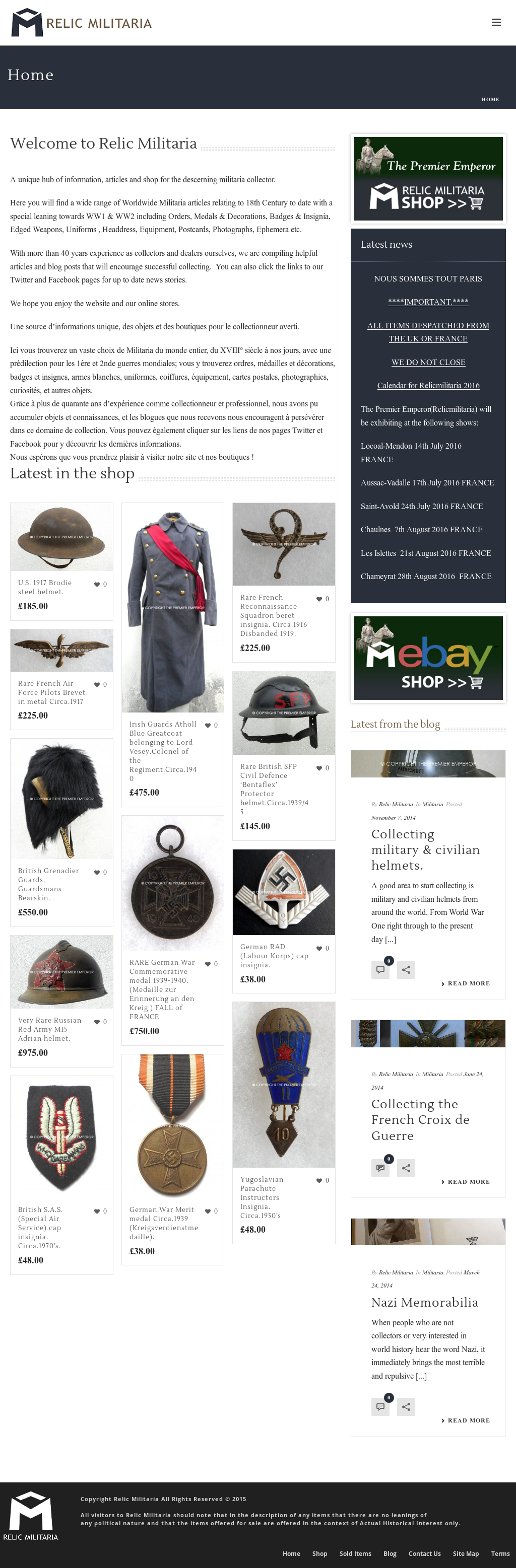 Relic Militaria Competitors, Revenue and Employees - Owler Company