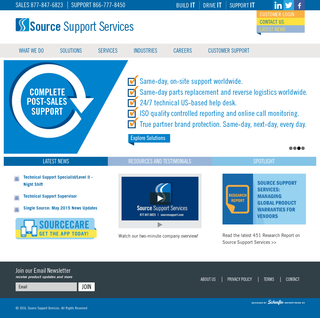Source Support Services Competitors, Revenue and Employees