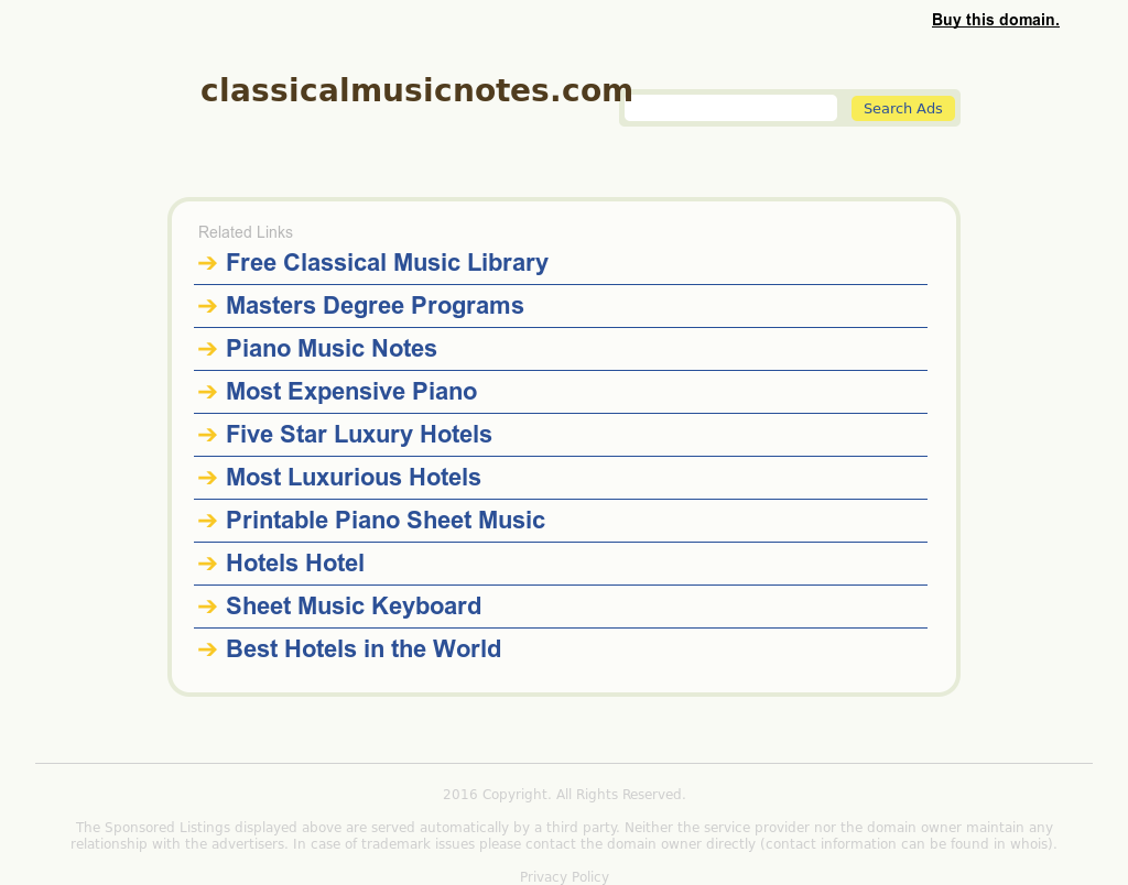 Classical Music Notes Competitors, Revenue and Employees - Owler