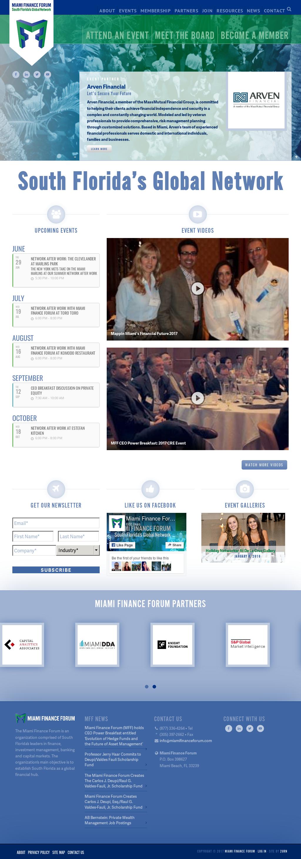 Miami Finance Forum Competitors, Revenue and Employees