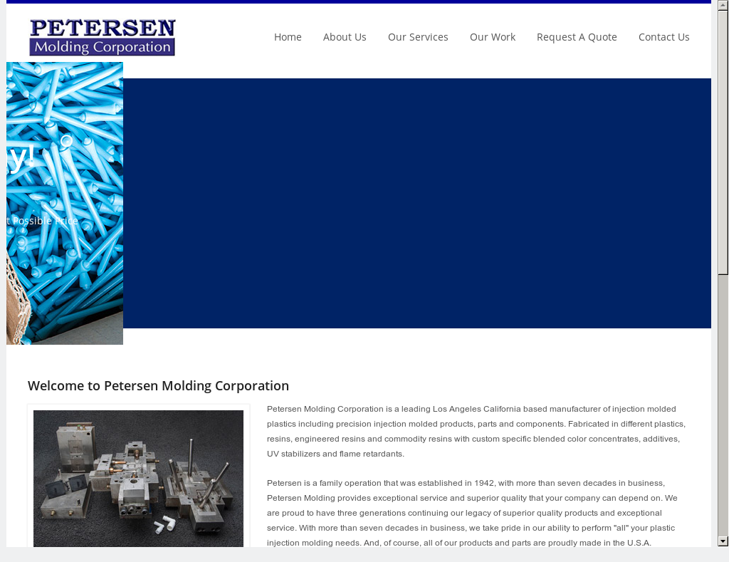 Petersen Precision Plastic Competitors, Revenue and