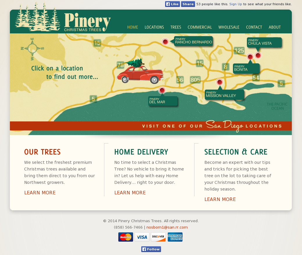 Pinery Christmas Trees Competitors