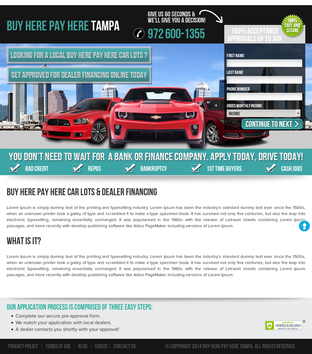 Buy Here Pay Here Tampa >> Buy Here Pay Here Tampa Competitors Revenue And Employees Owler