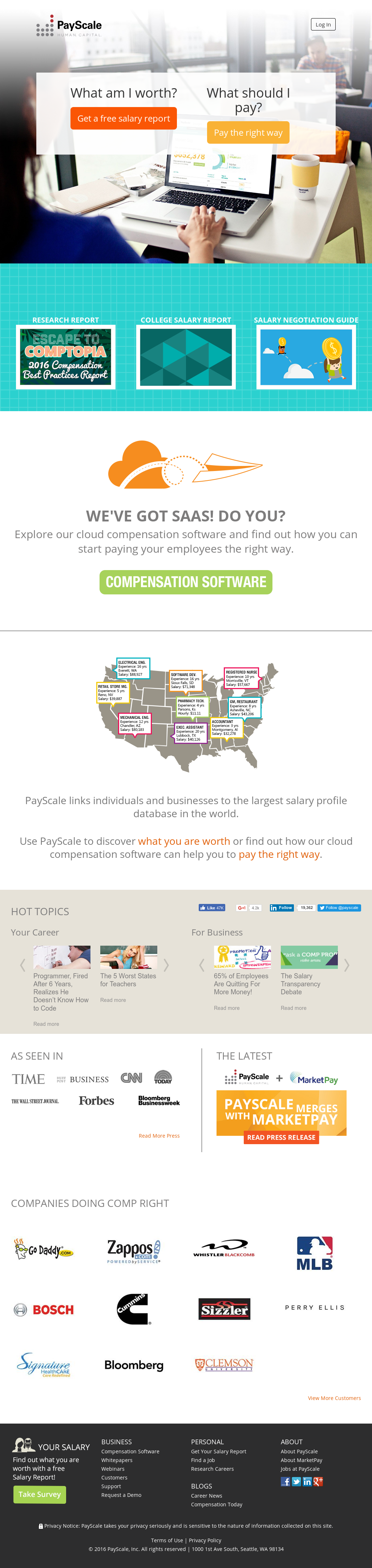 PayScale Competitors, Revenue and Employees - Owler Company