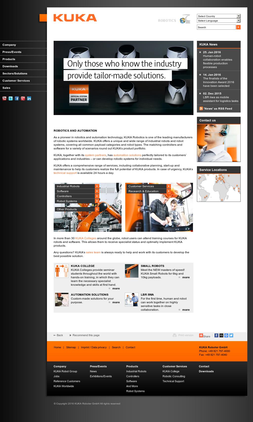 Owler Reports - KUKA Roboter: KUKA LBR iiwa Lightweight