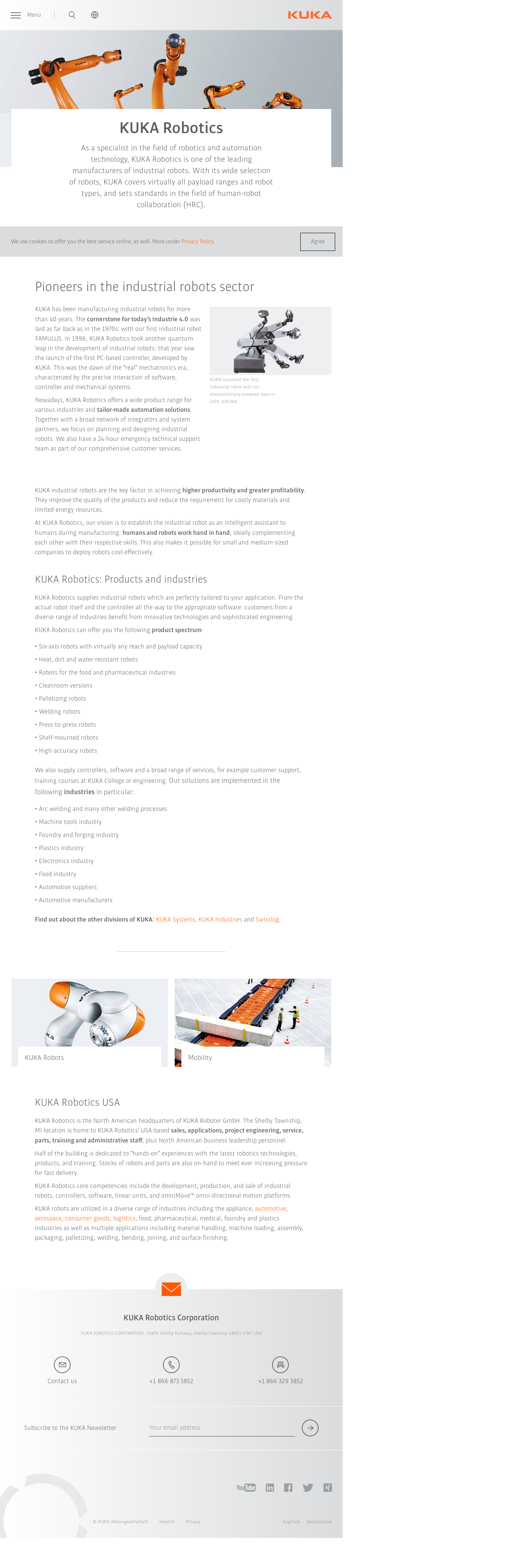 KUKA Roboter Competitors, Revenue and Employees - Owler Company Profile