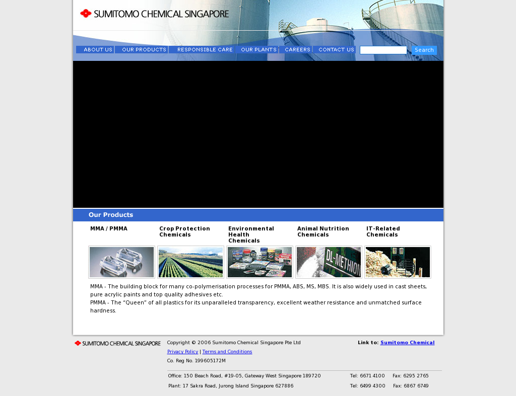 Sumitomo Chemical Singapore Pte Ltd (Sgnic-orgsu67763 Competitors