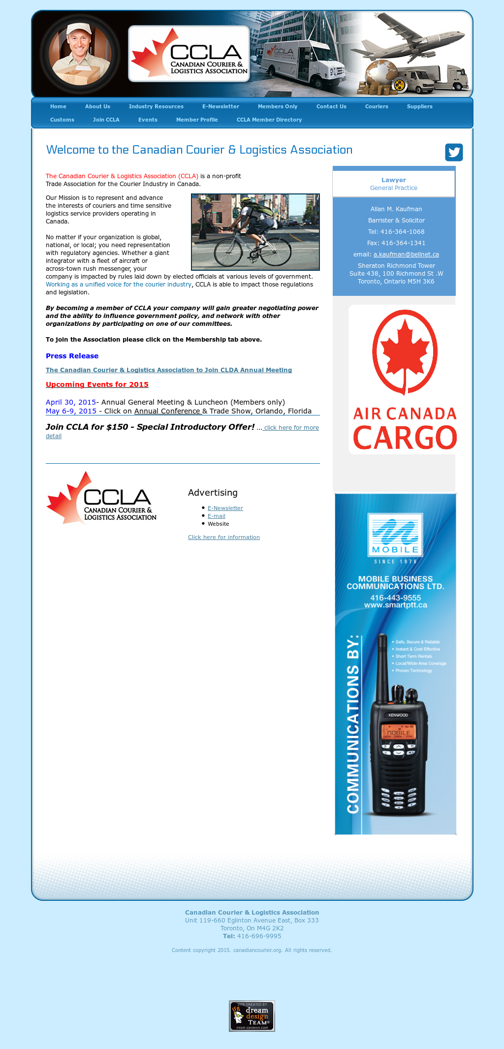 Canadian Courier & Logistics Association Competitors, Revenue and