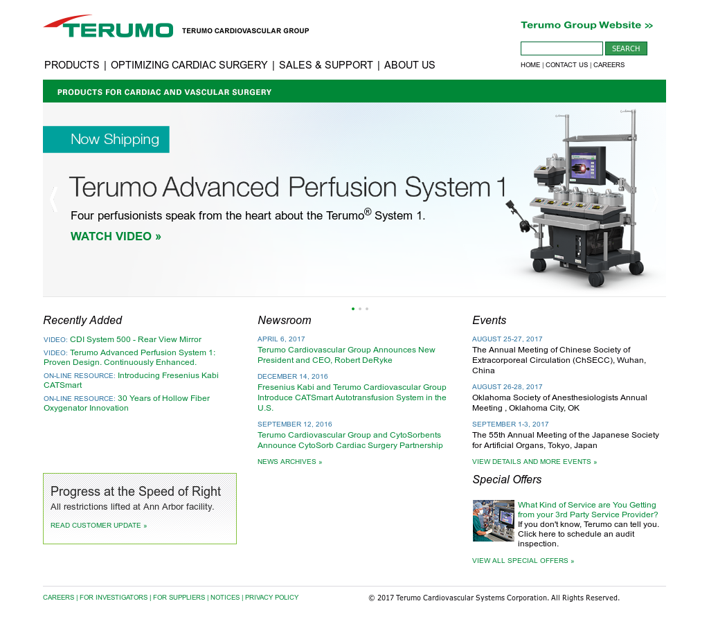Terumo Cardiovascular Group Competitors Revenue And