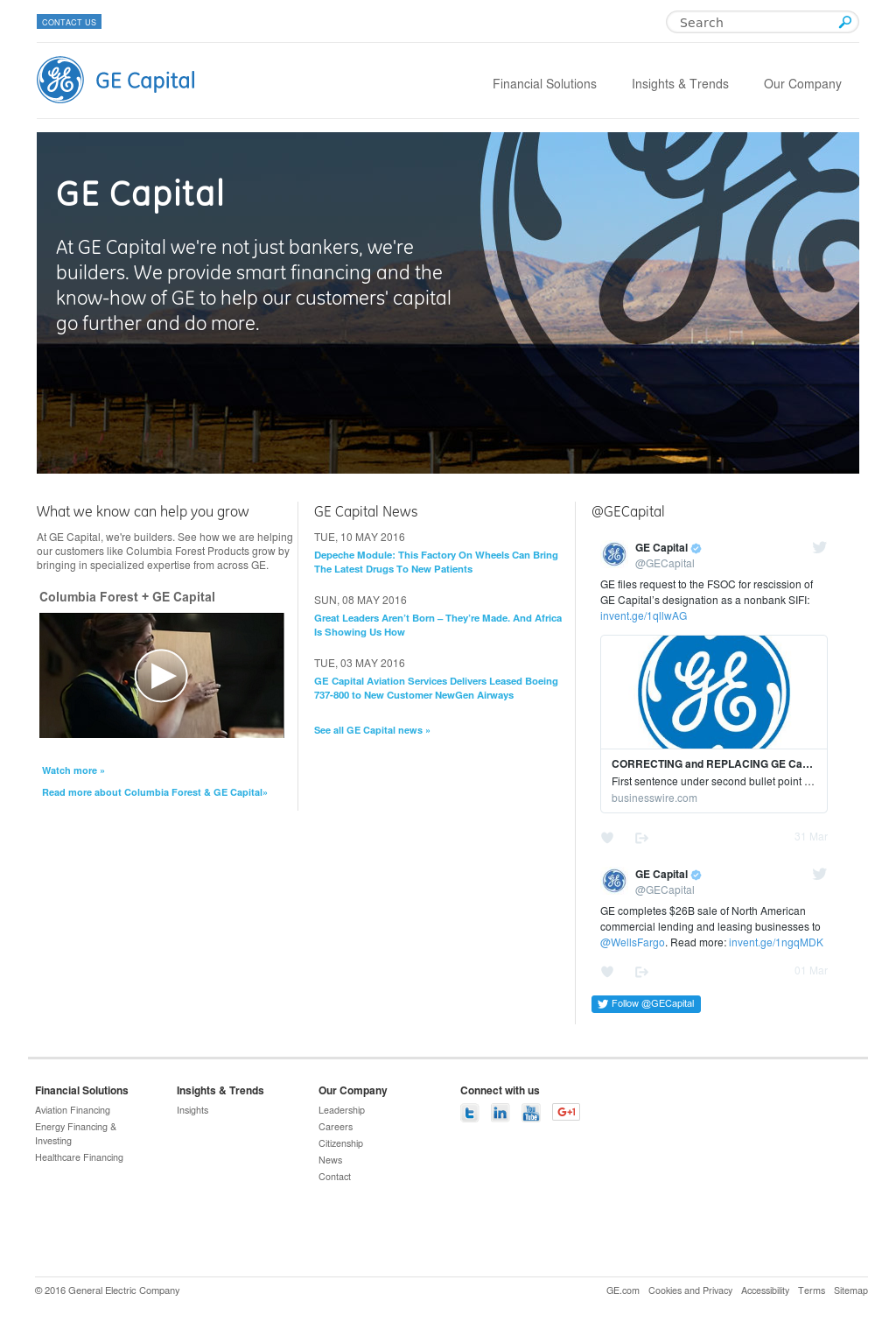 GE Capital Competitors, Revenue and Employees - Owler Company Profile
