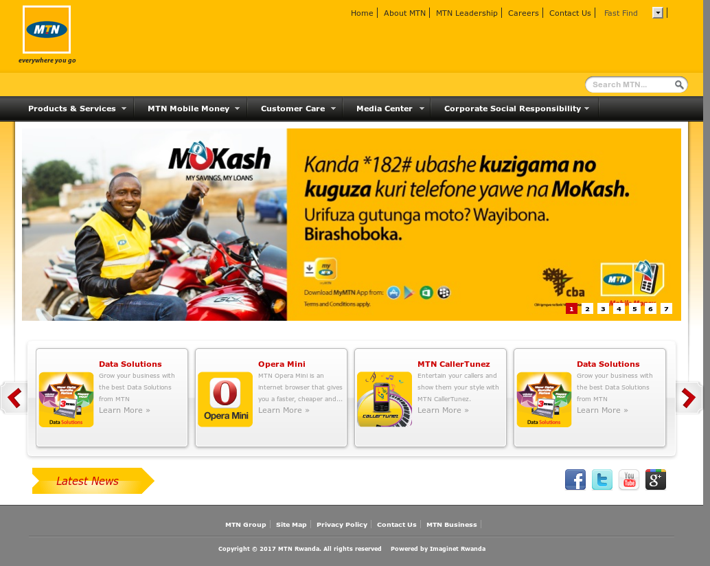 MTN Rwanda Competitors, Revenue and Employees - Owler Company Profile