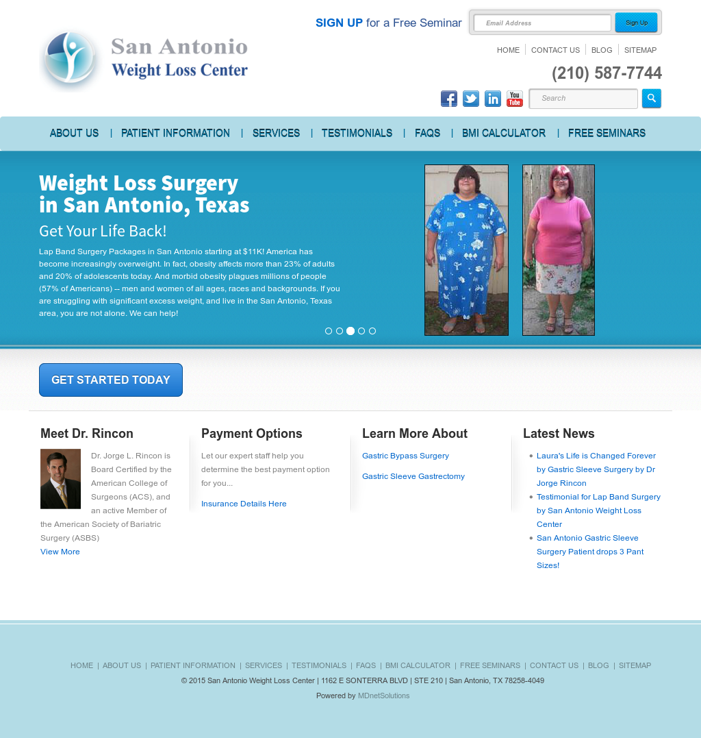 San Antonio Weight Loss Center Competitors Revenue And Employees