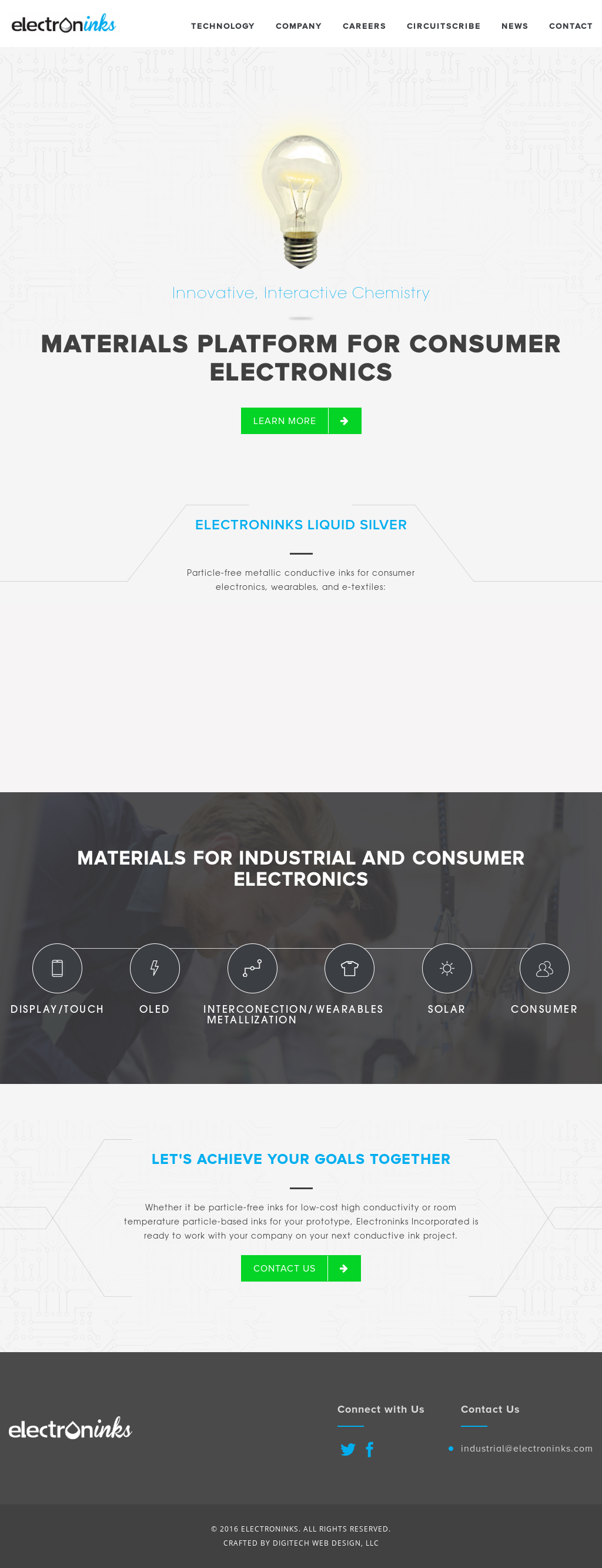 Electroninks Competitors Revenue And Employees Owler Company Profile Circuit Scribe Kickstarter Electroninkss Website Screenshot On Jun 2018
