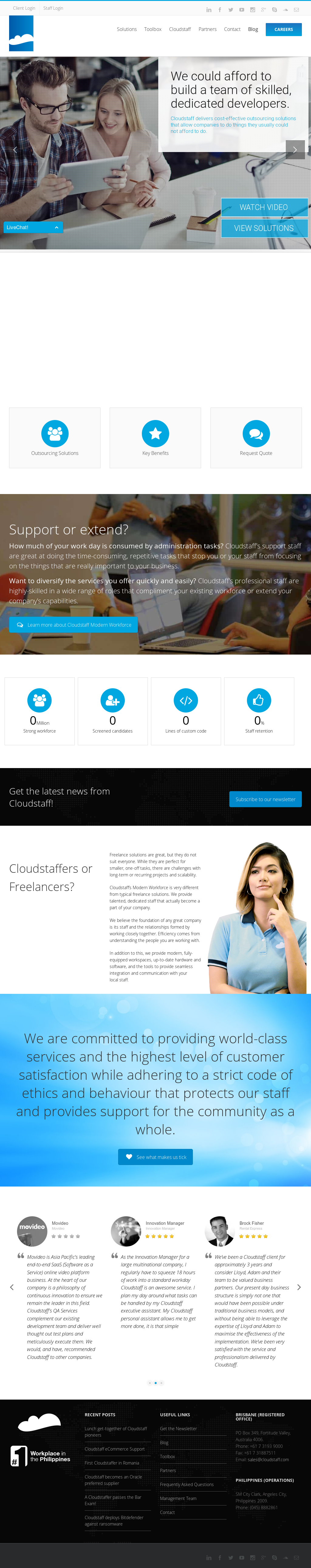 Cloudstaff Competitors, Revenue and Employees - Owler Company Profile