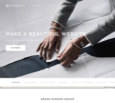 Squarespace website history