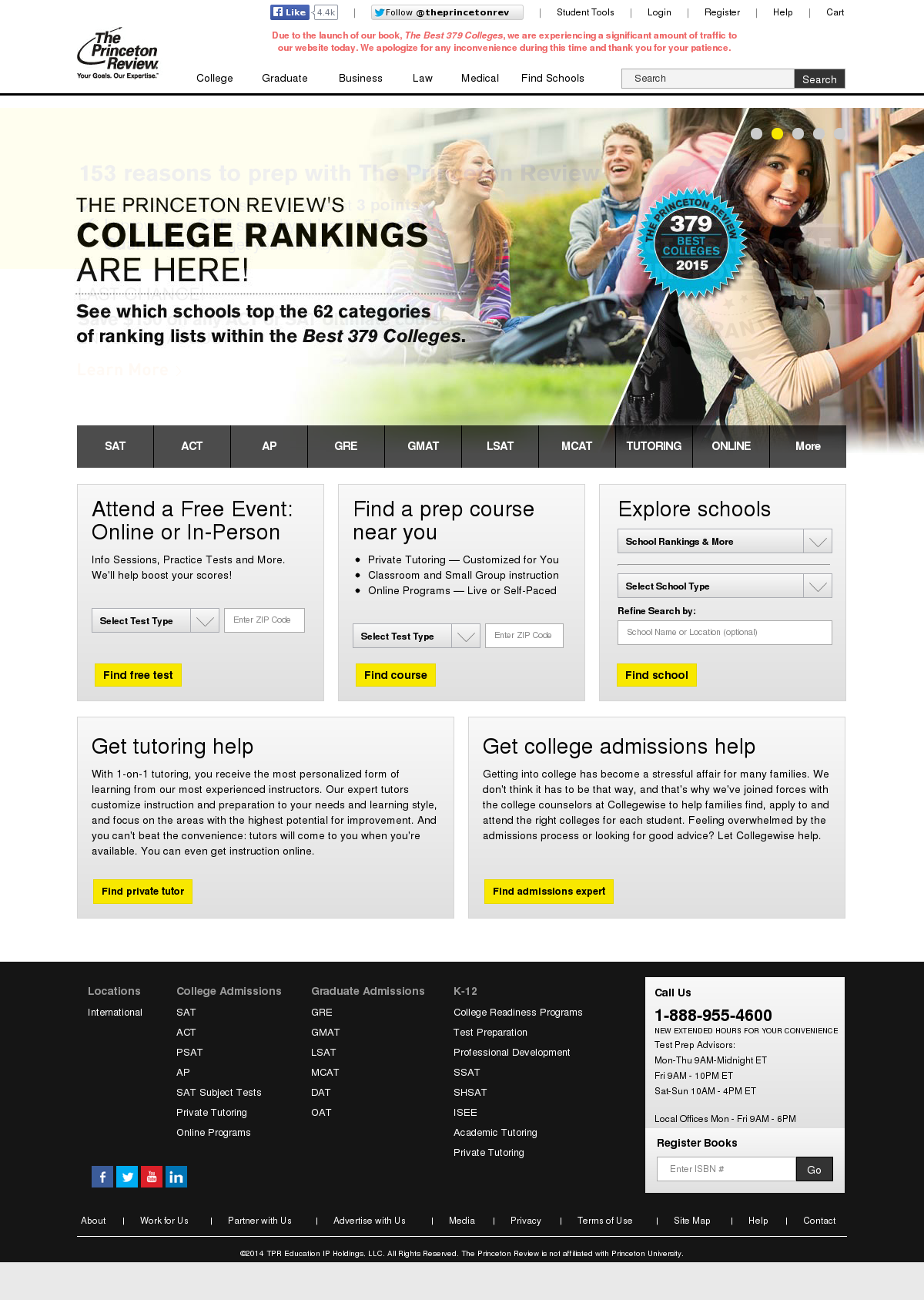 The Princeton Review Competitors, Revenue and Employees - Owler